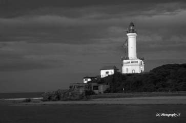 Point Lonsdale Lighthouse-BW