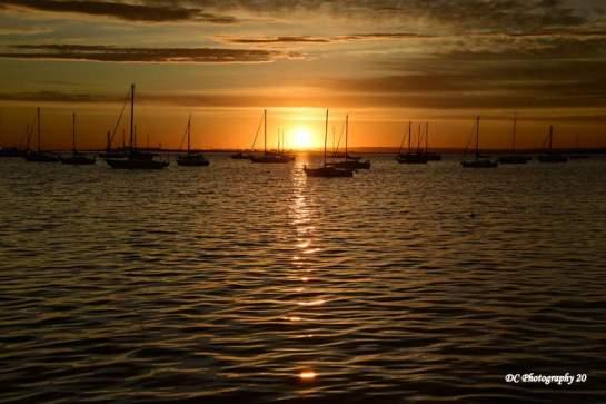 Corio Bay Sunrise, March 13 ,2020