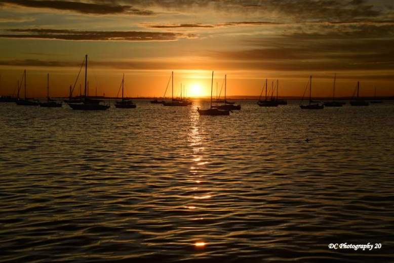 Corio Bay Sunrise, March 13 ,2020